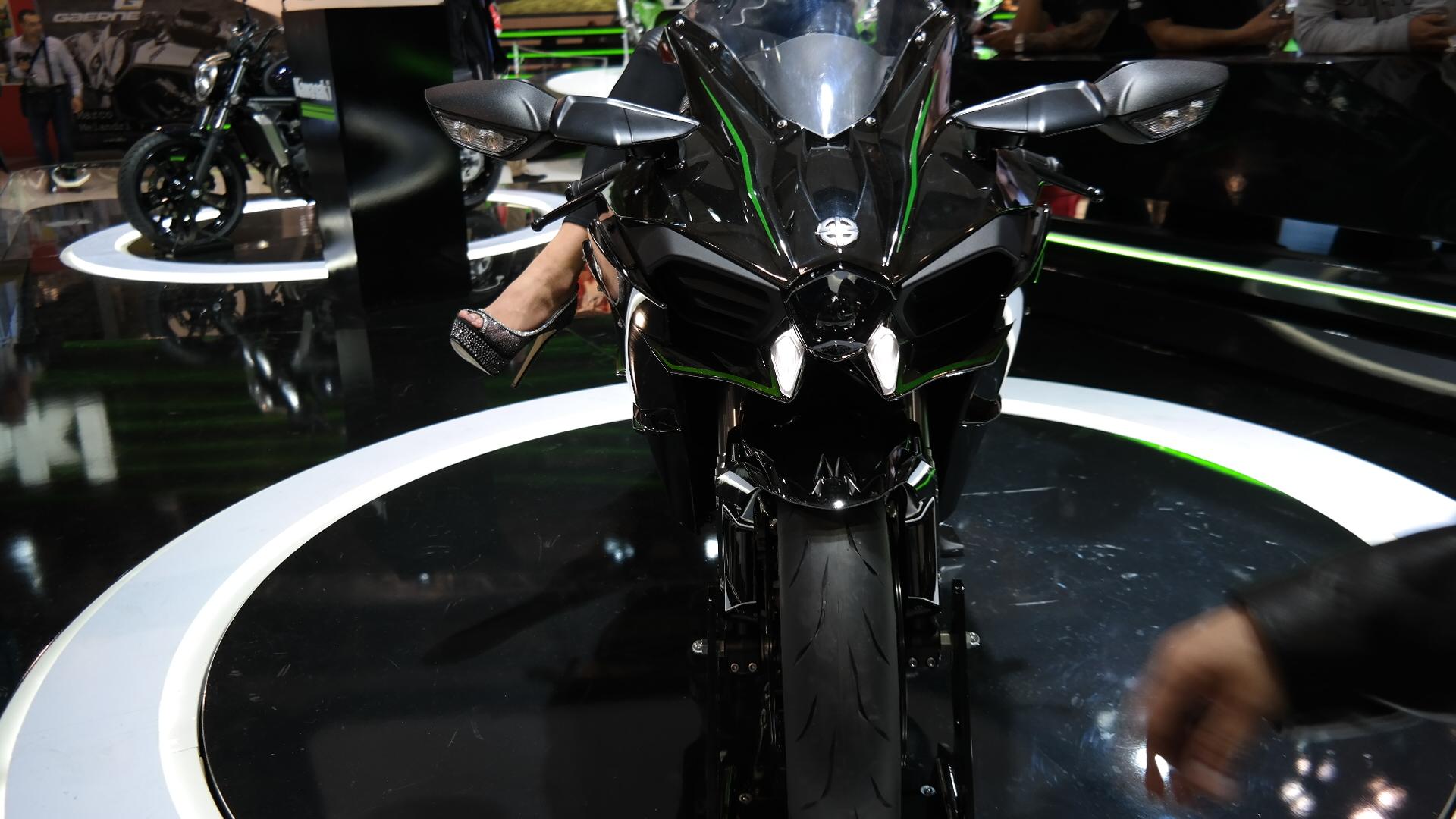 Kawasaki Ninja H2 Front View