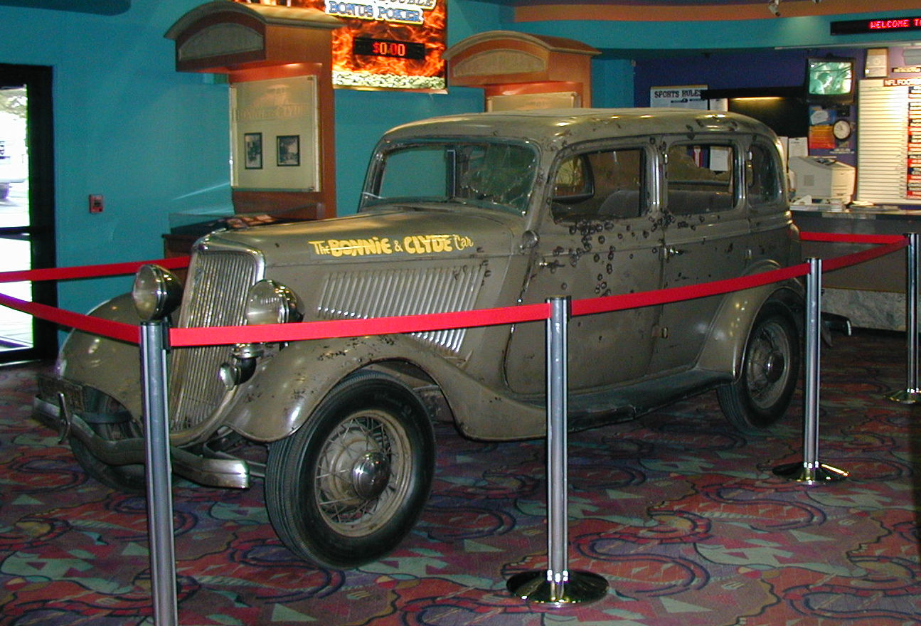 Bonnie And Clyde Car Location: Bonnie And Clyde Ford V8