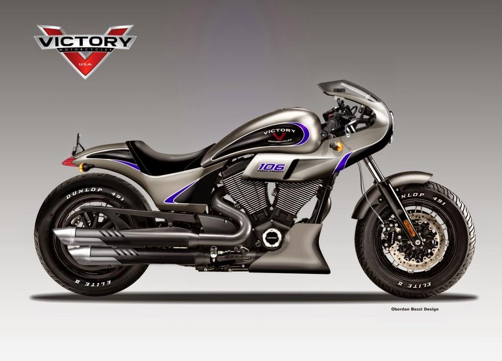 Evil Victory Bikes Imagined by Oberdan Bezzi - autoevolution