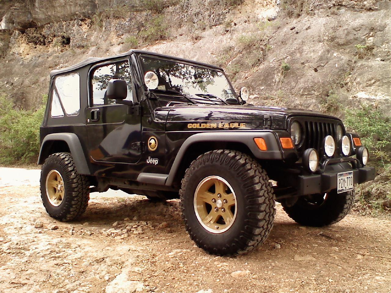 Exclusive Jeep Wrangler Golden Eagle 75th Anniversary