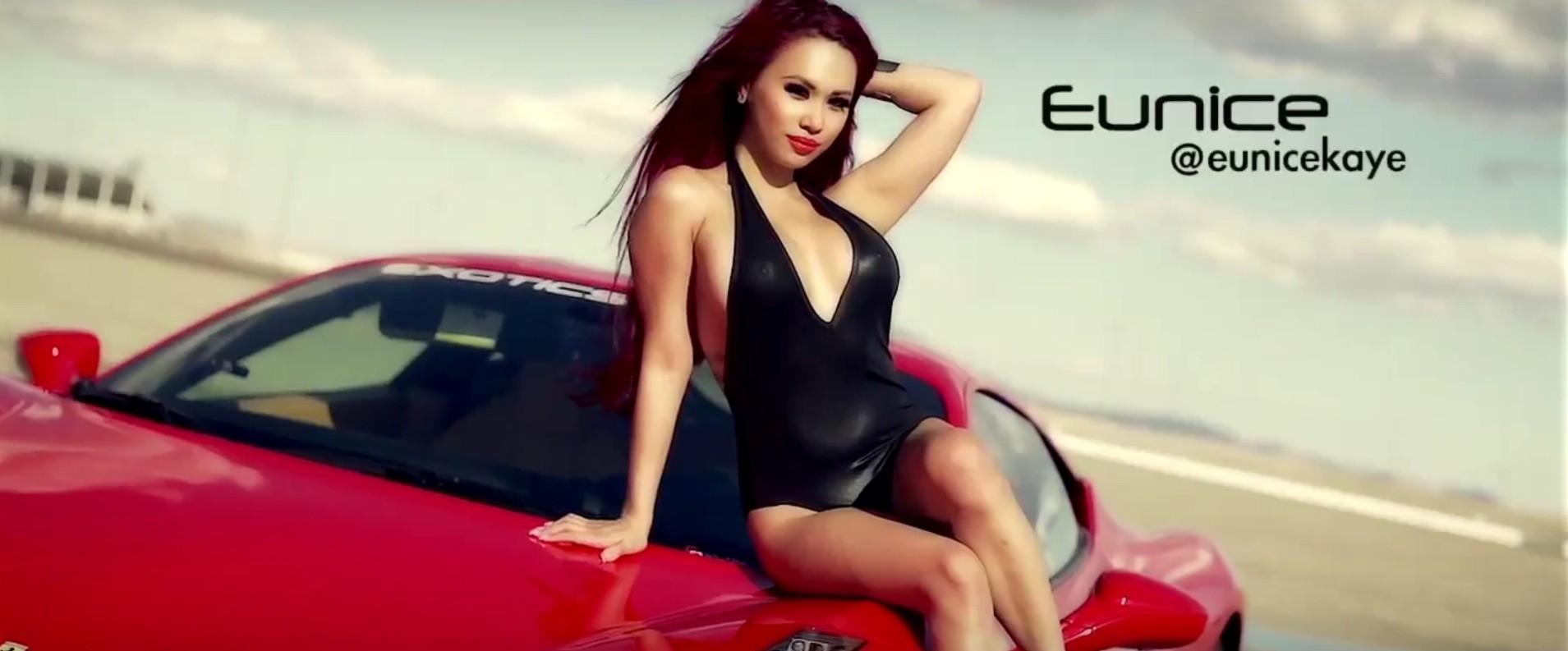 ... Exotic Women Get Joyrides in a Ferrari 458 6665cfc733