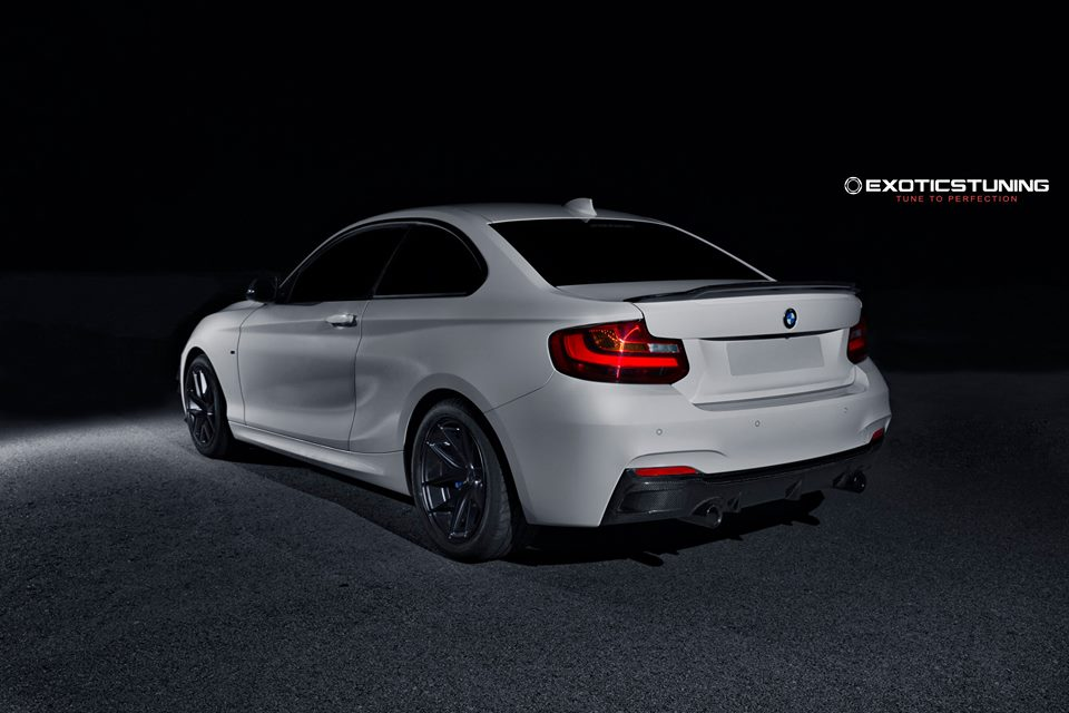exotics tuning enters the bmw 2 series coupe tuning game. Black Bedroom Furniture Sets. Home Design Ideas