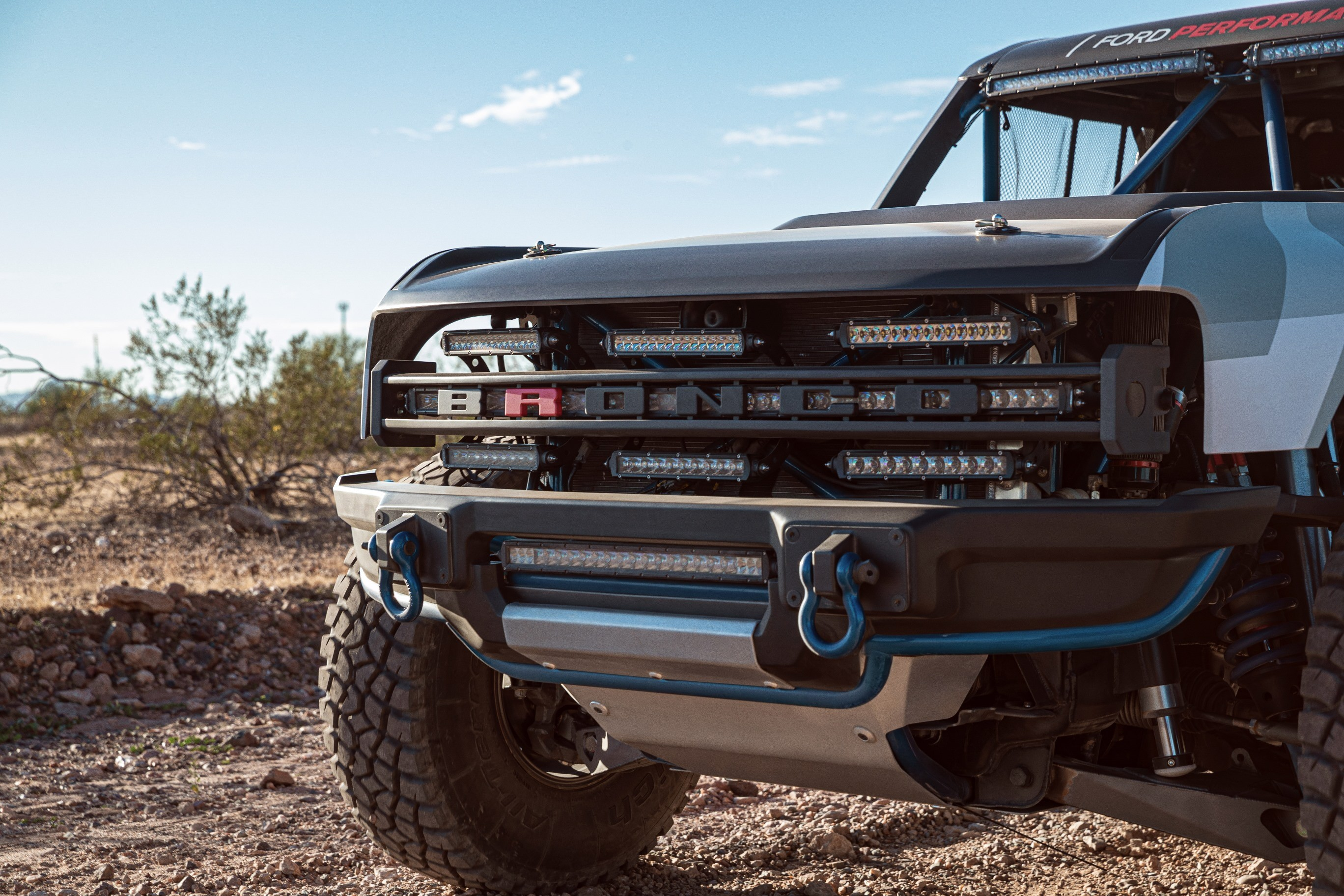Experimental 2021 Ford Bronco Prototype Shows Off-Road ...