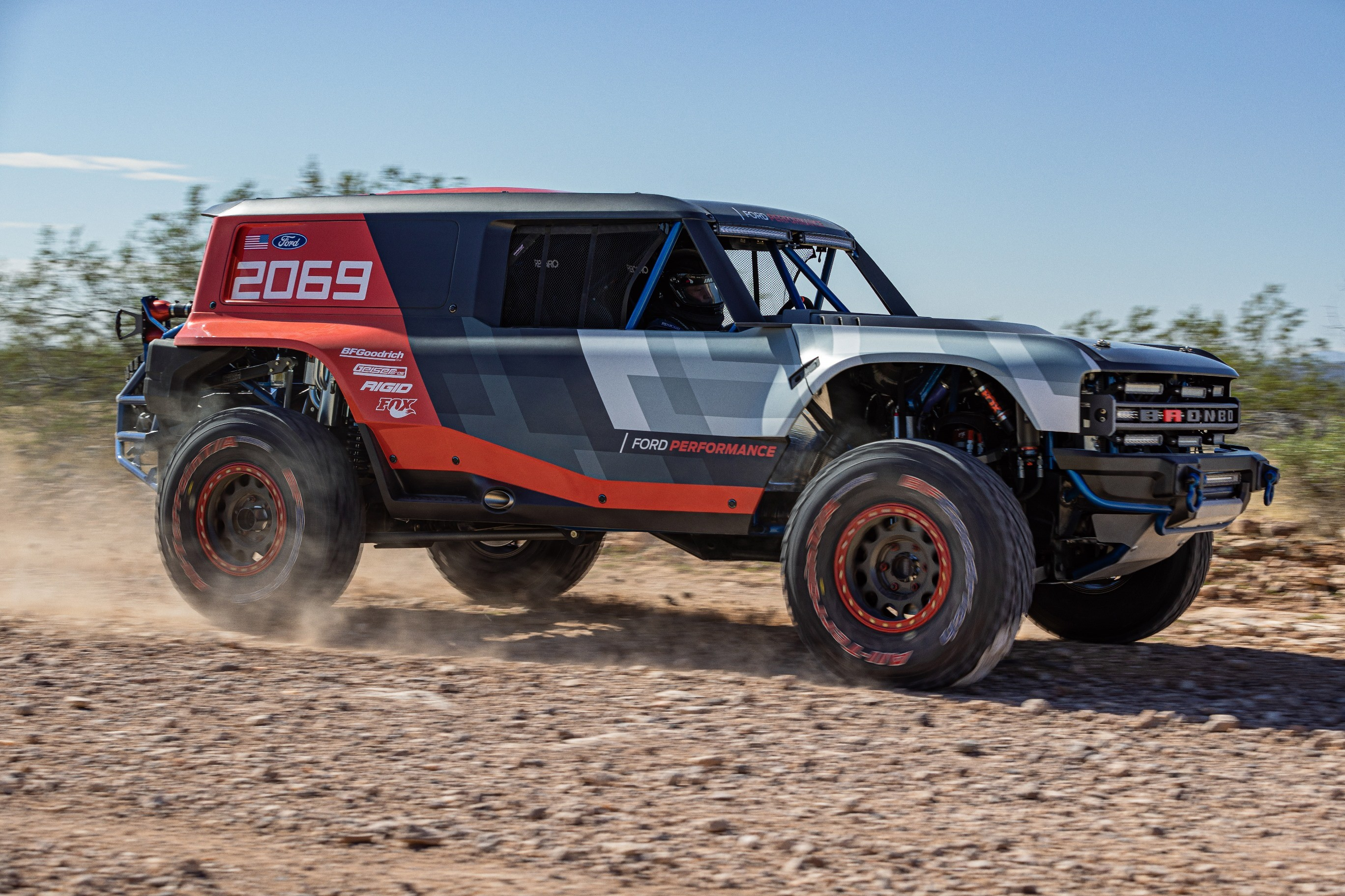 experimental 2021 ford bronco prototype shows off-road chops in johnson valley