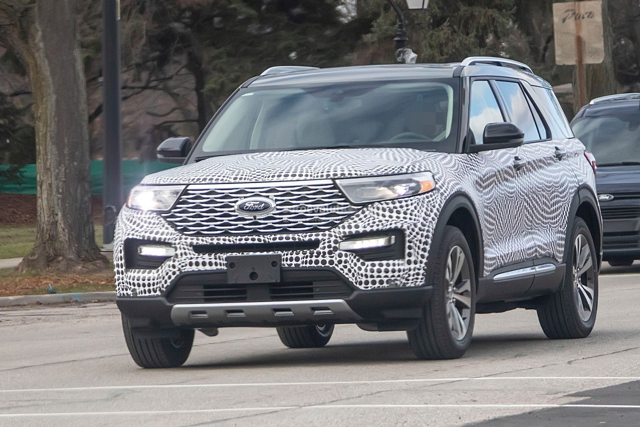 Supra Spy Shots >> 2020 Ford Explorer Shows Off Plasticky Cabin - autoevolution
