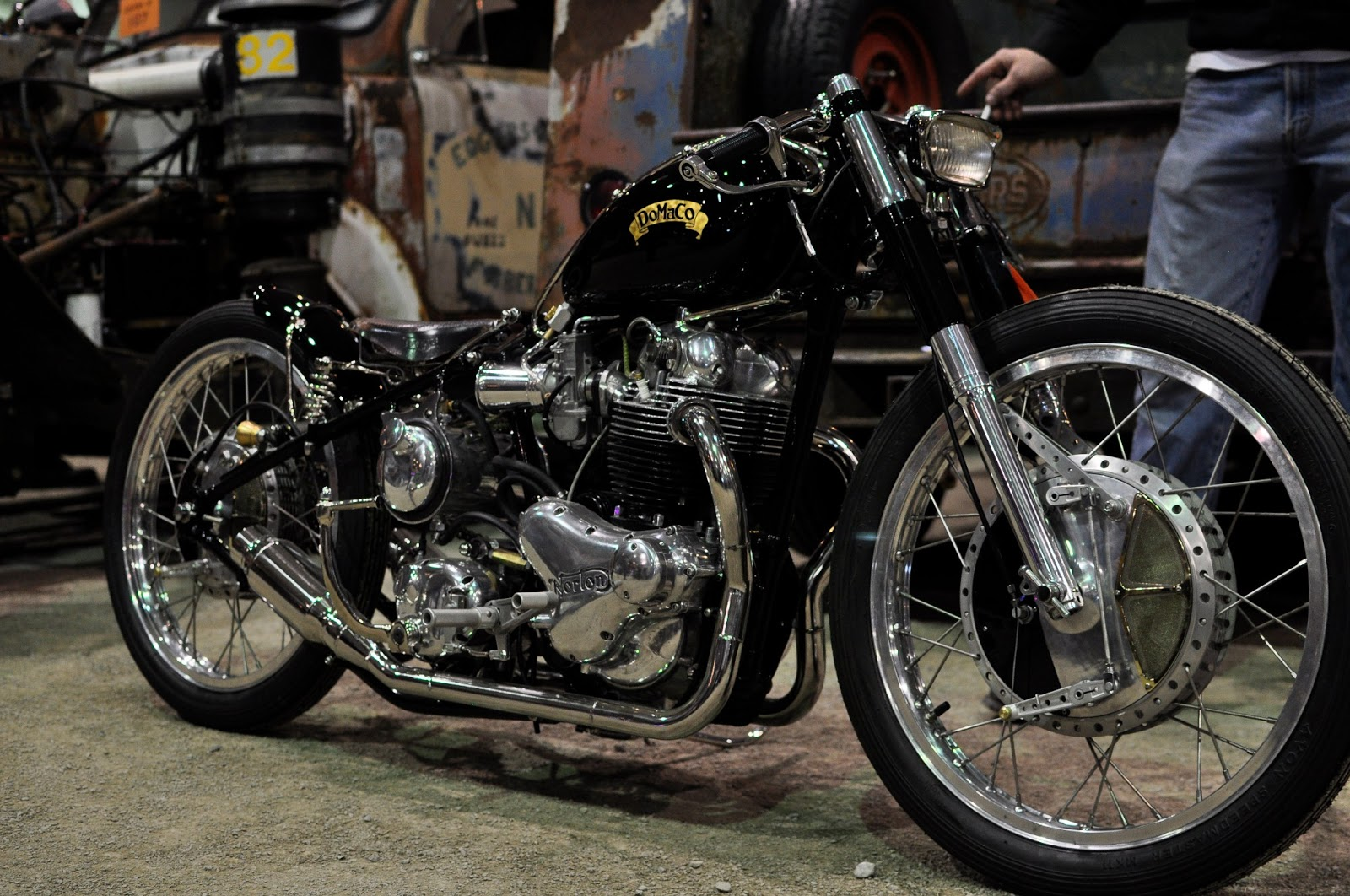 Exquisite Norton Bobber Of Unkown Origin Autoevolution