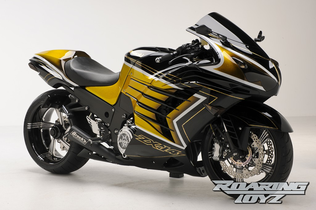 Extreme Kawasaki Zx 14r Art Autoevolution