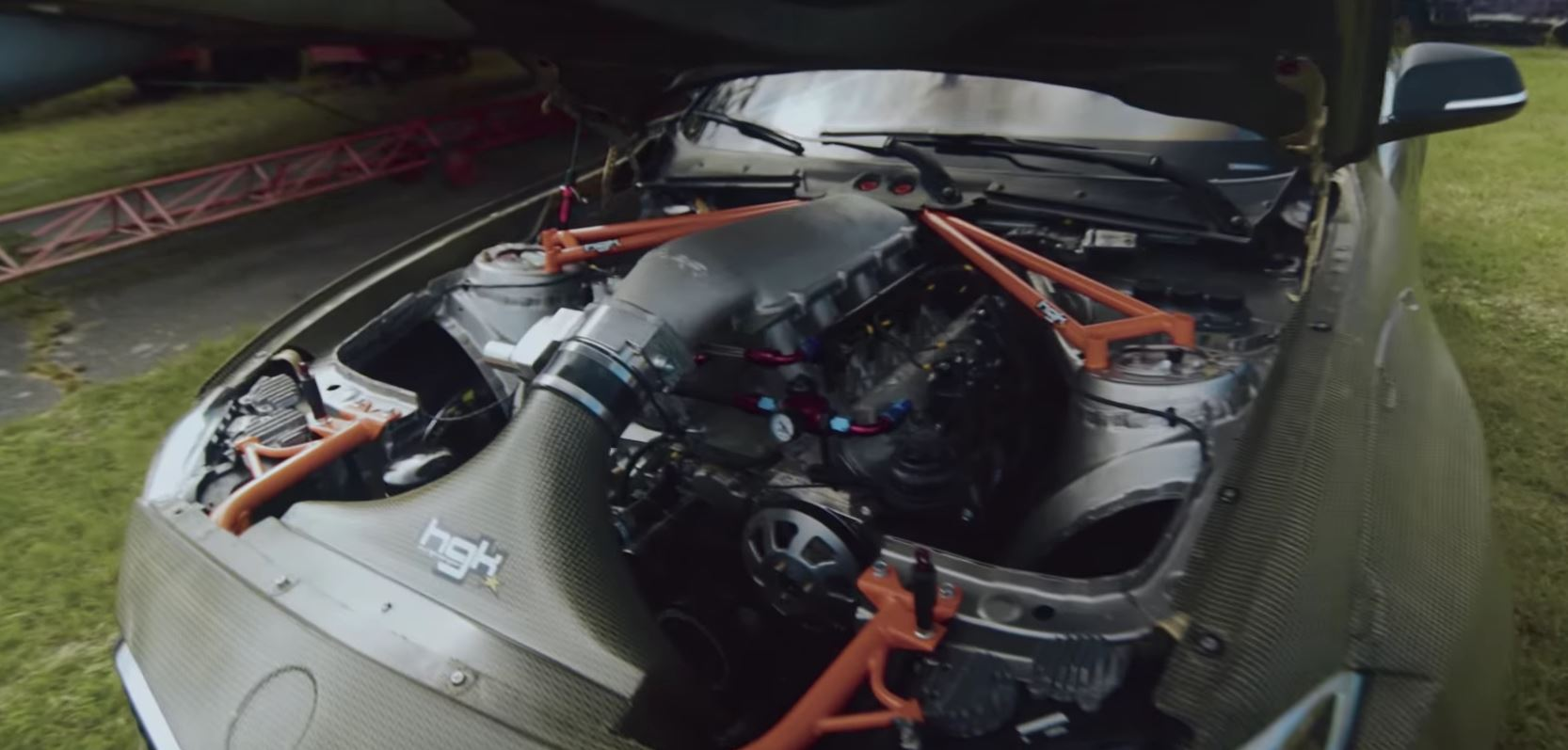 Drift Car Is An Hp Ls Inside The Bmw Series Coupe