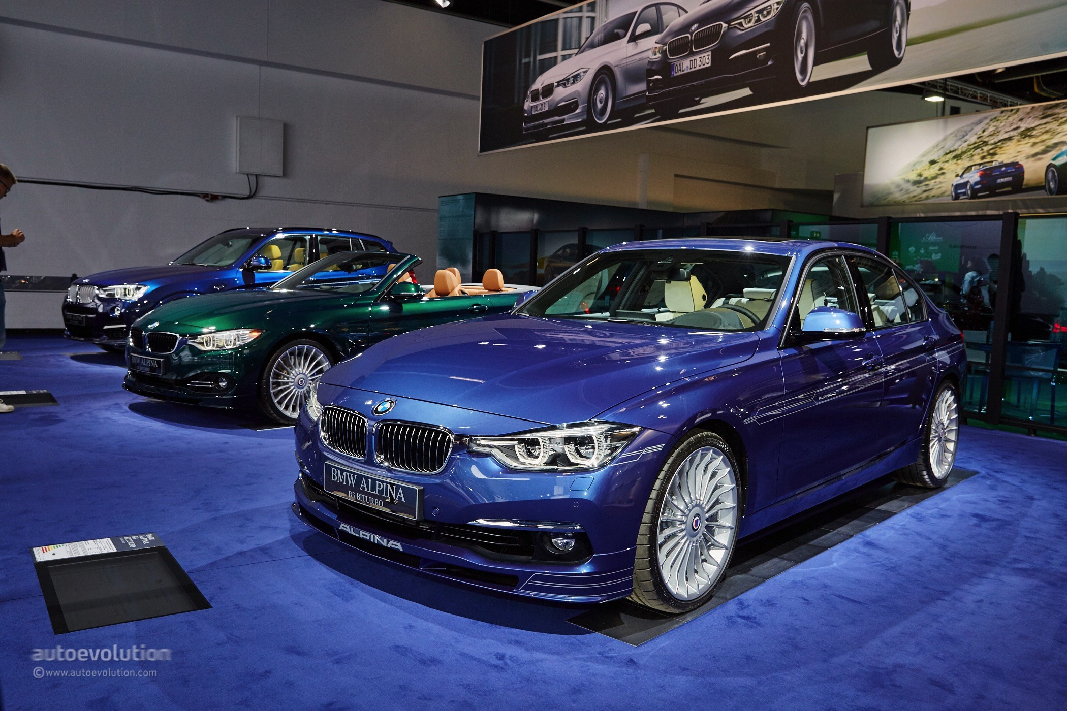 facelift alpina b3 biturbo shows up in frankfurt dressed. Black Bedroom Furniture Sets. Home Design Ideas
