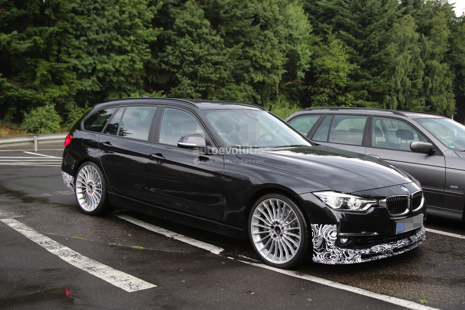 facelift alpina b3 touring spotted out testing could have m3 power autoevolution. Black Bedroom Furniture Sets. Home Design Ideas