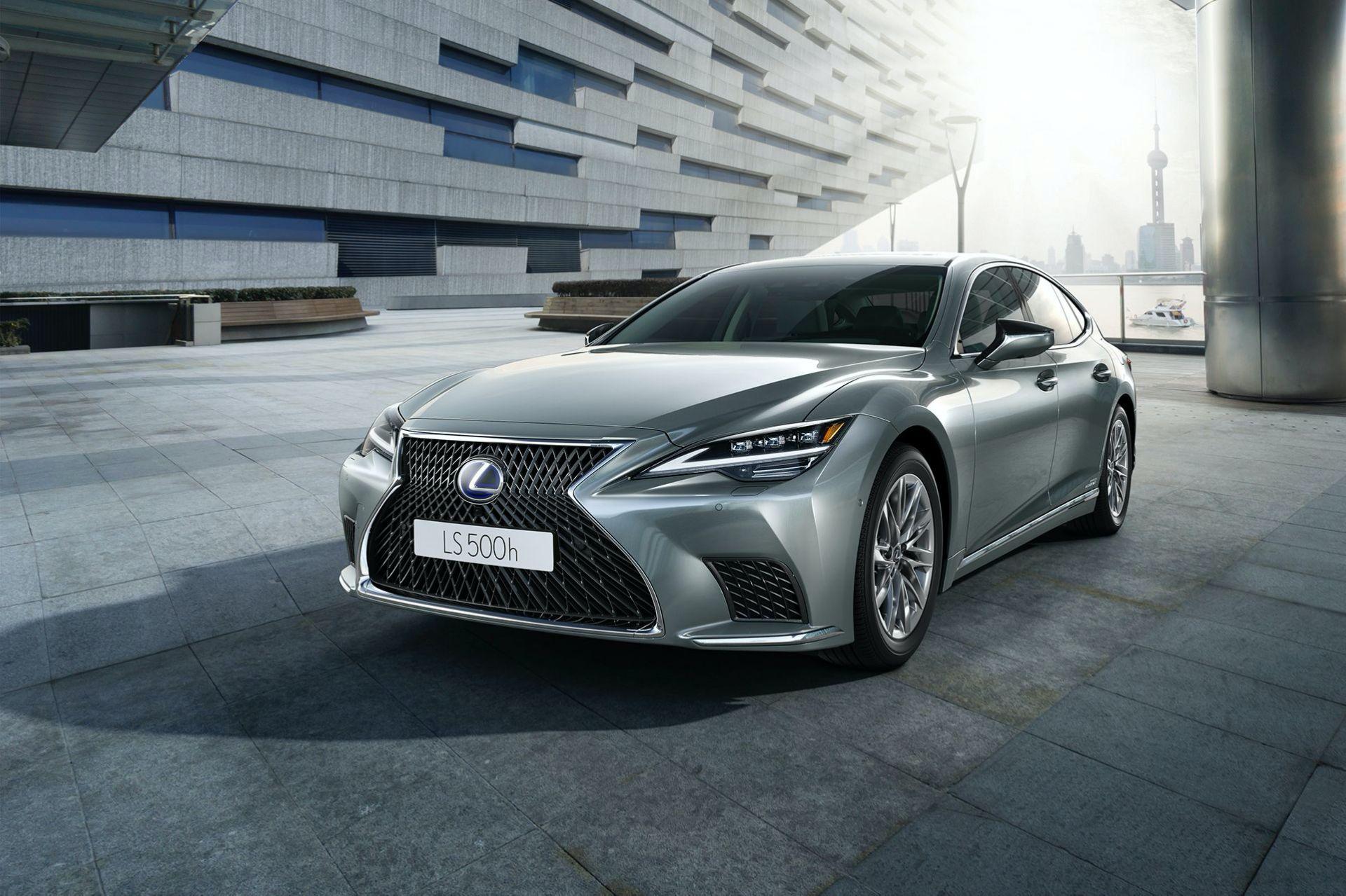 facelifted 2021 lexus ls revealed for european market