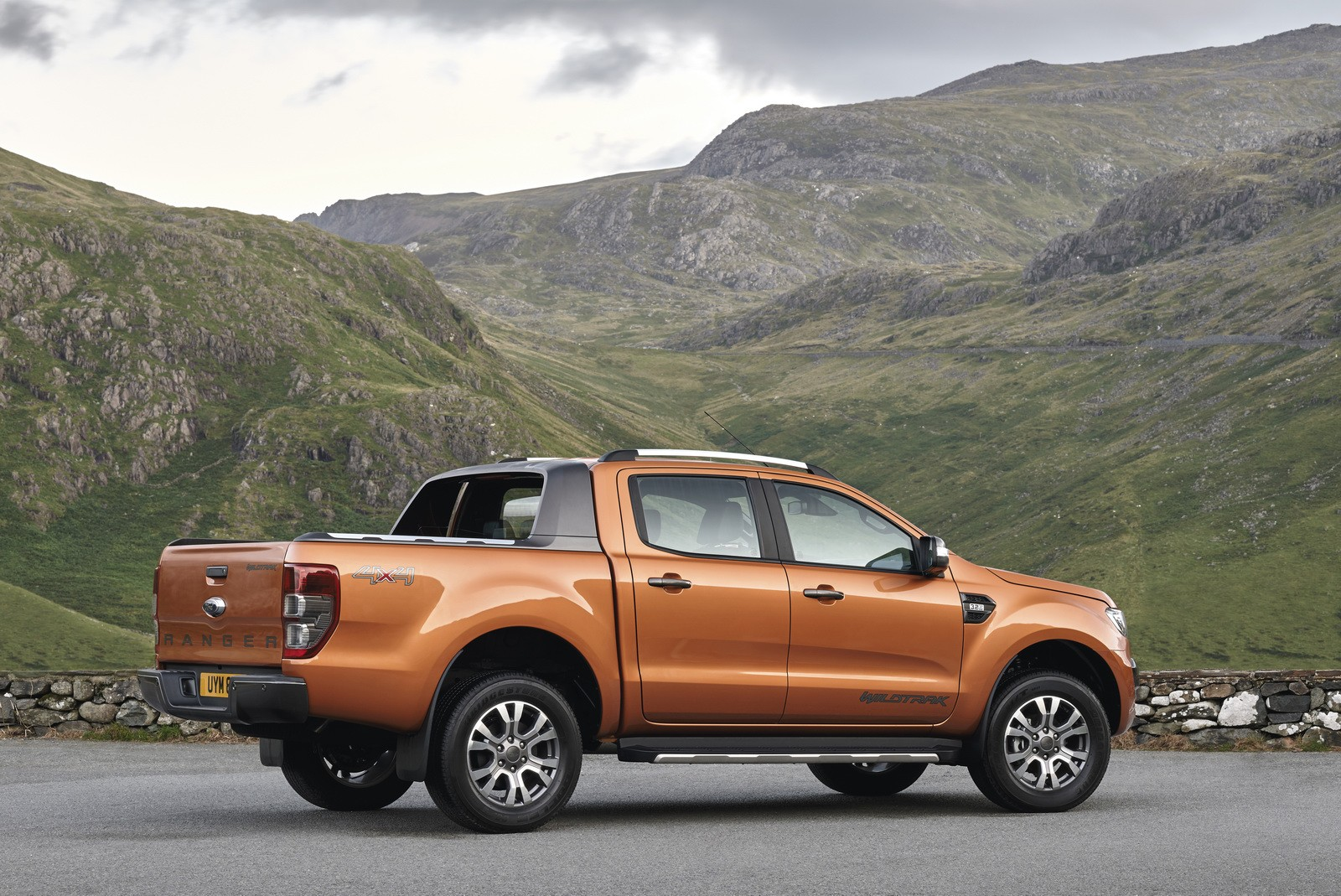 facelifted ford ranger finds its way to frankfurt will. Black Bedroom Furniture Sets. Home Design Ideas