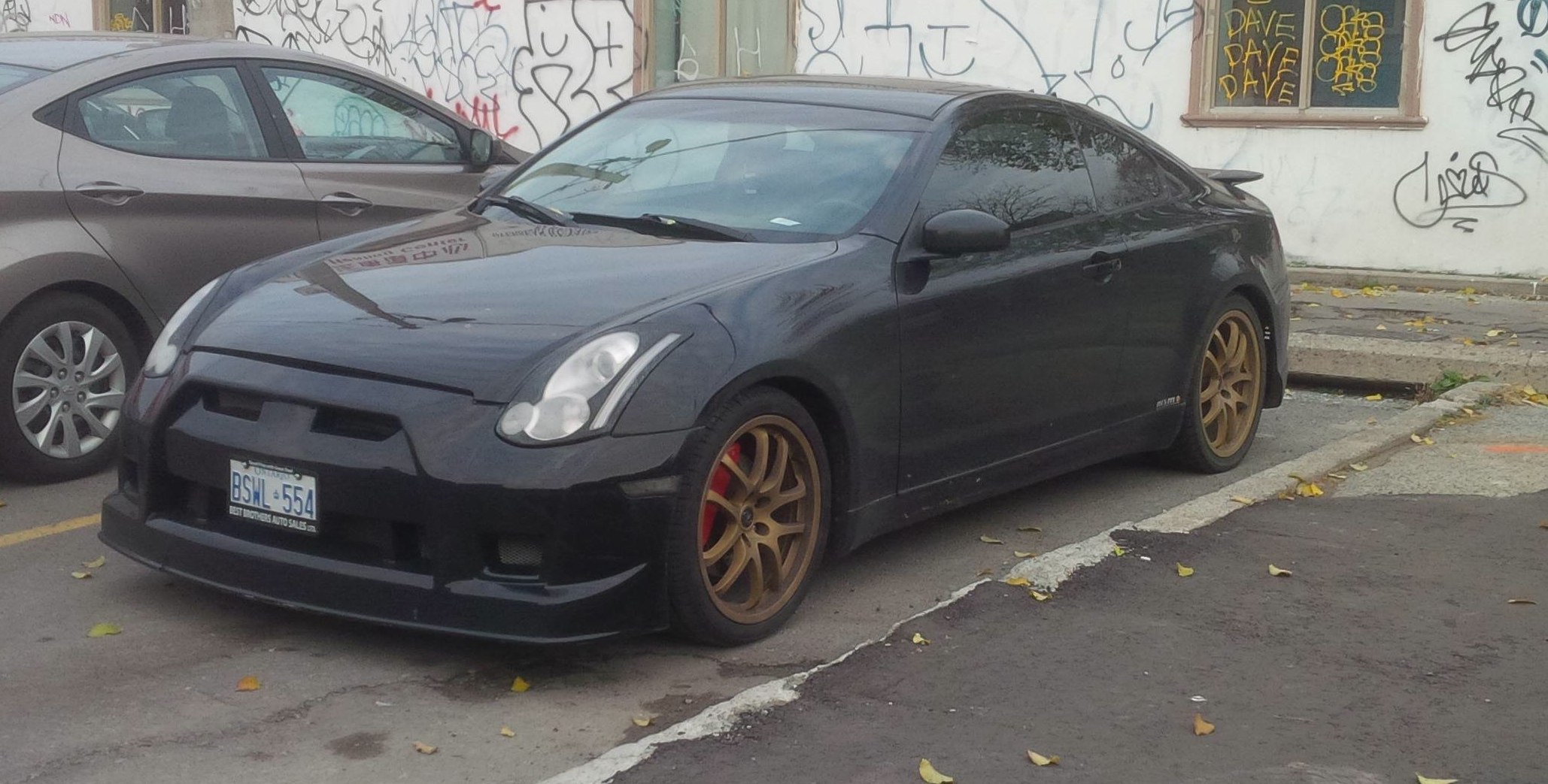 Fail Nissan Skyline Infiniti G35 Wants To Be A Gt R