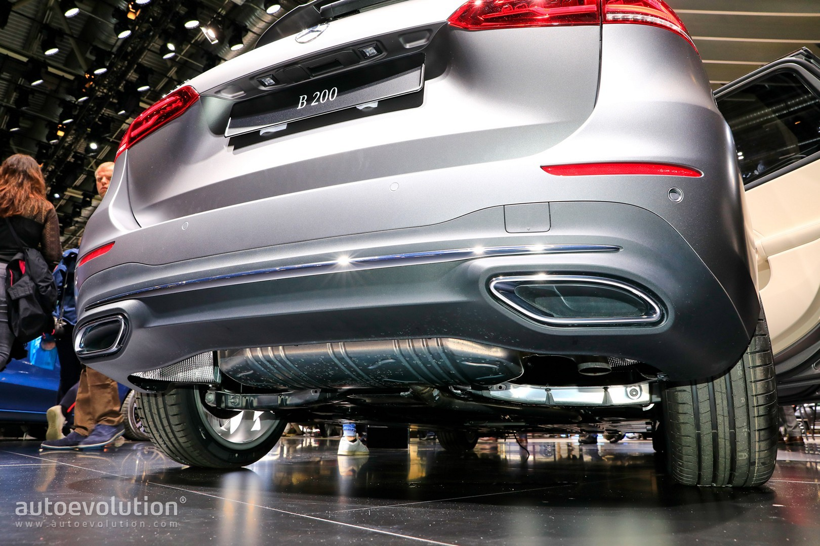 Fake Exhausts Invade 2018 Paris Motor Show And Mercedes Is