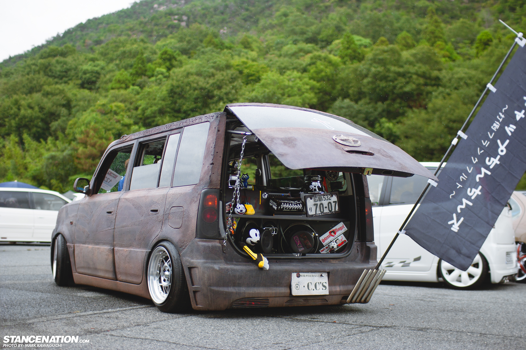 Fake Rust Looks Good On Scion Xb Autoevolution