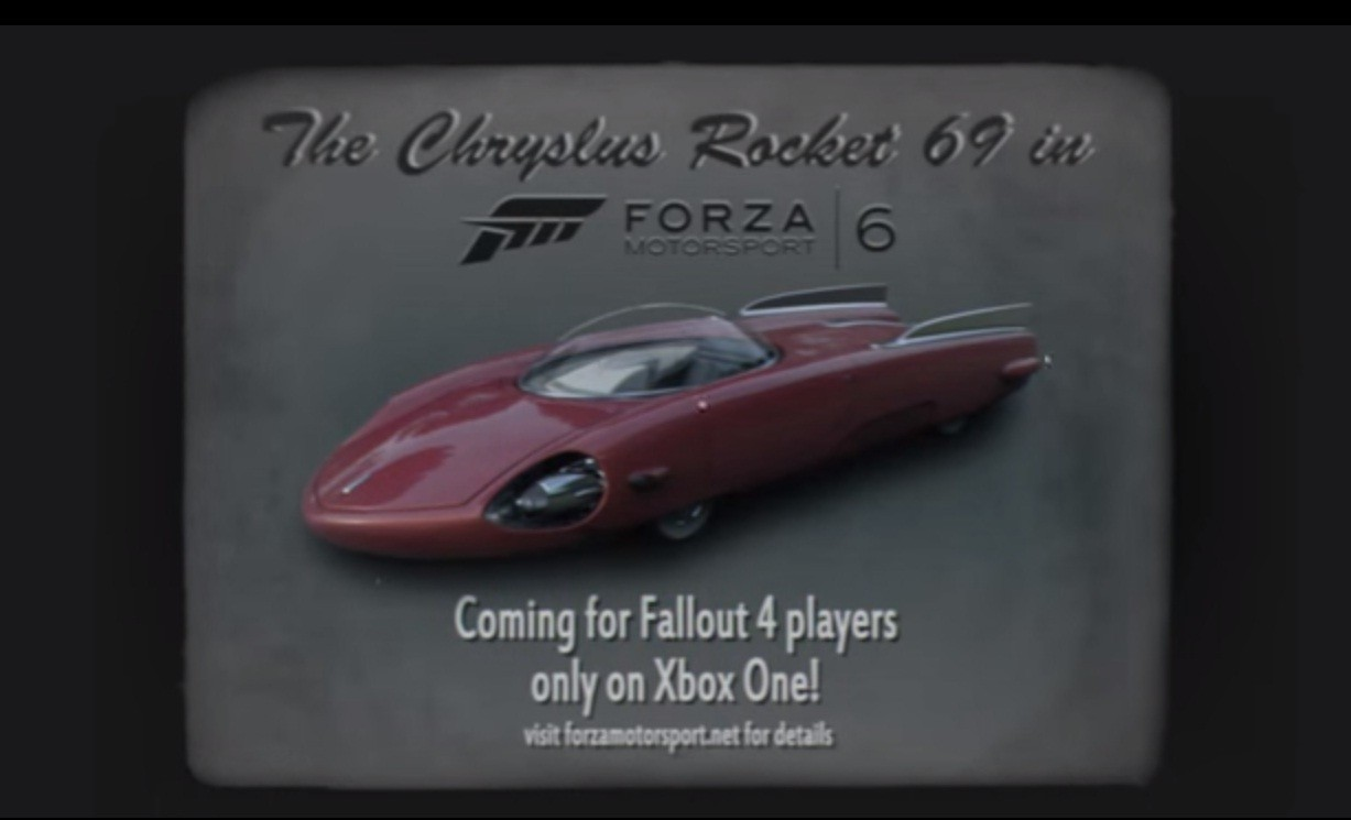 Fallout 4 Themed Ford F100 Chryslus Rocket 69