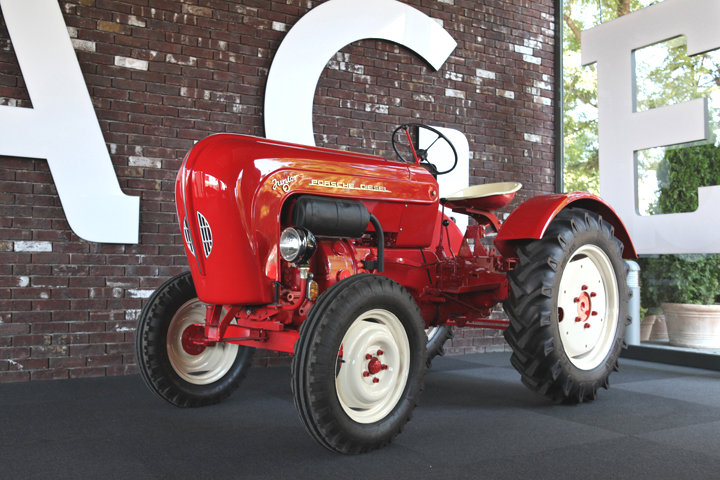 Fancy A Porsche Tractor With An Air Cooled Diesel Engine
