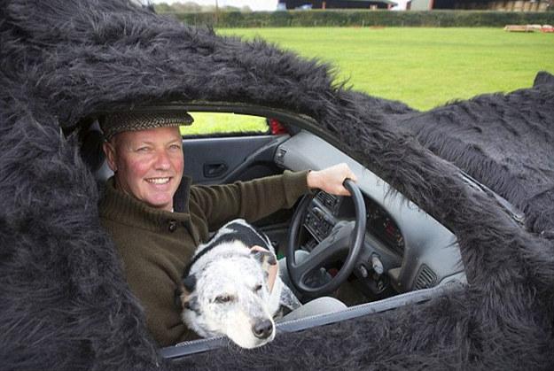 Farmer Turns Peugeot into His Dead Sheep Dog Lookalike Car ...