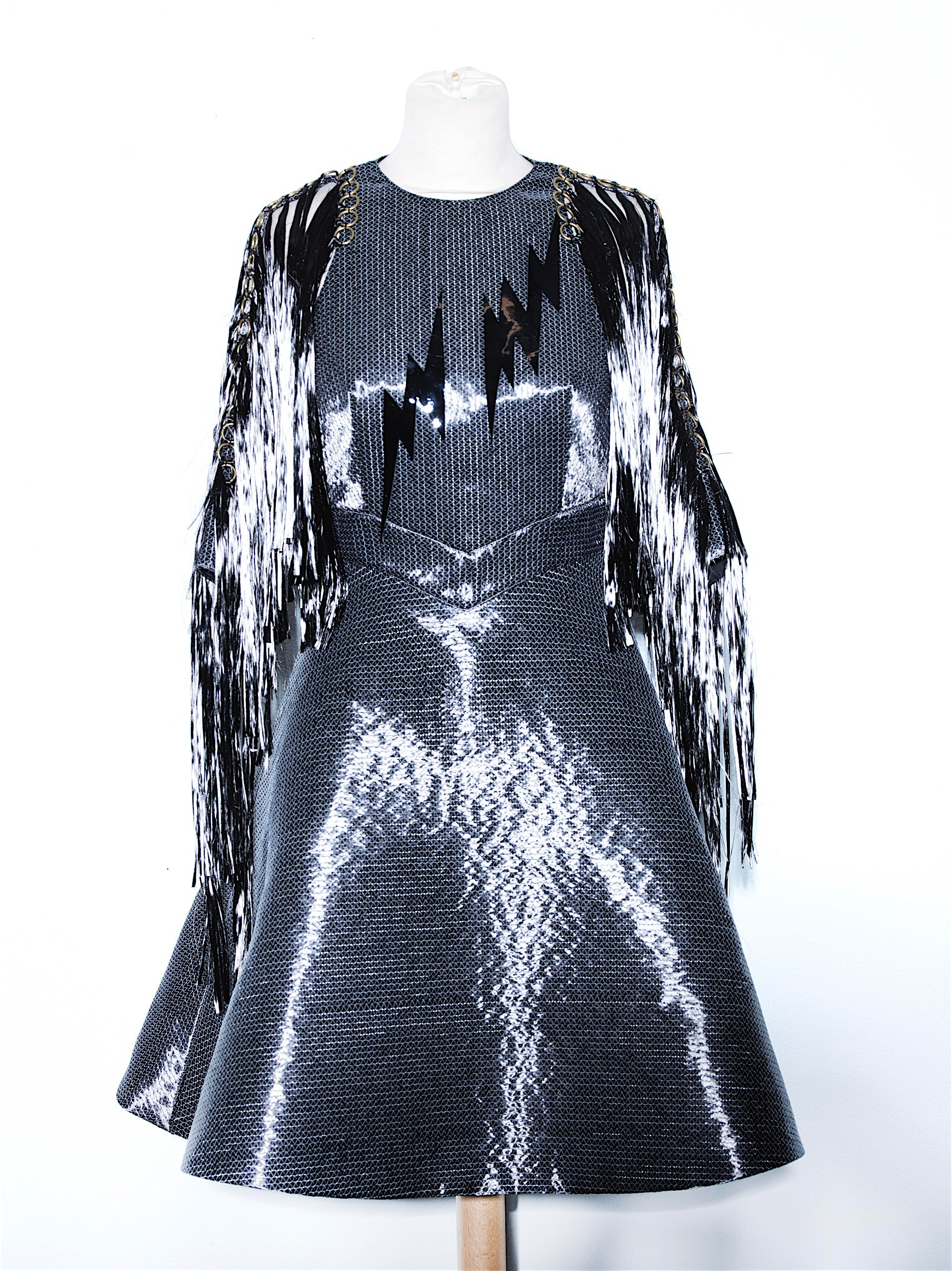 Fashion Designers Create Dress Out Of Carbon Fiber From