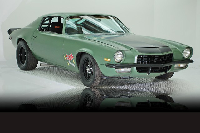 fast and furious 4 1974 chevy camaro f bomb up for grabs autoevolution. Black Bedroom Furniture Sets. Home Design Ideas