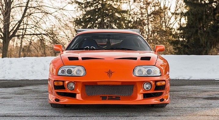 Fast and furious toyota supra stunt car will go on auction photo gallery autoevolution