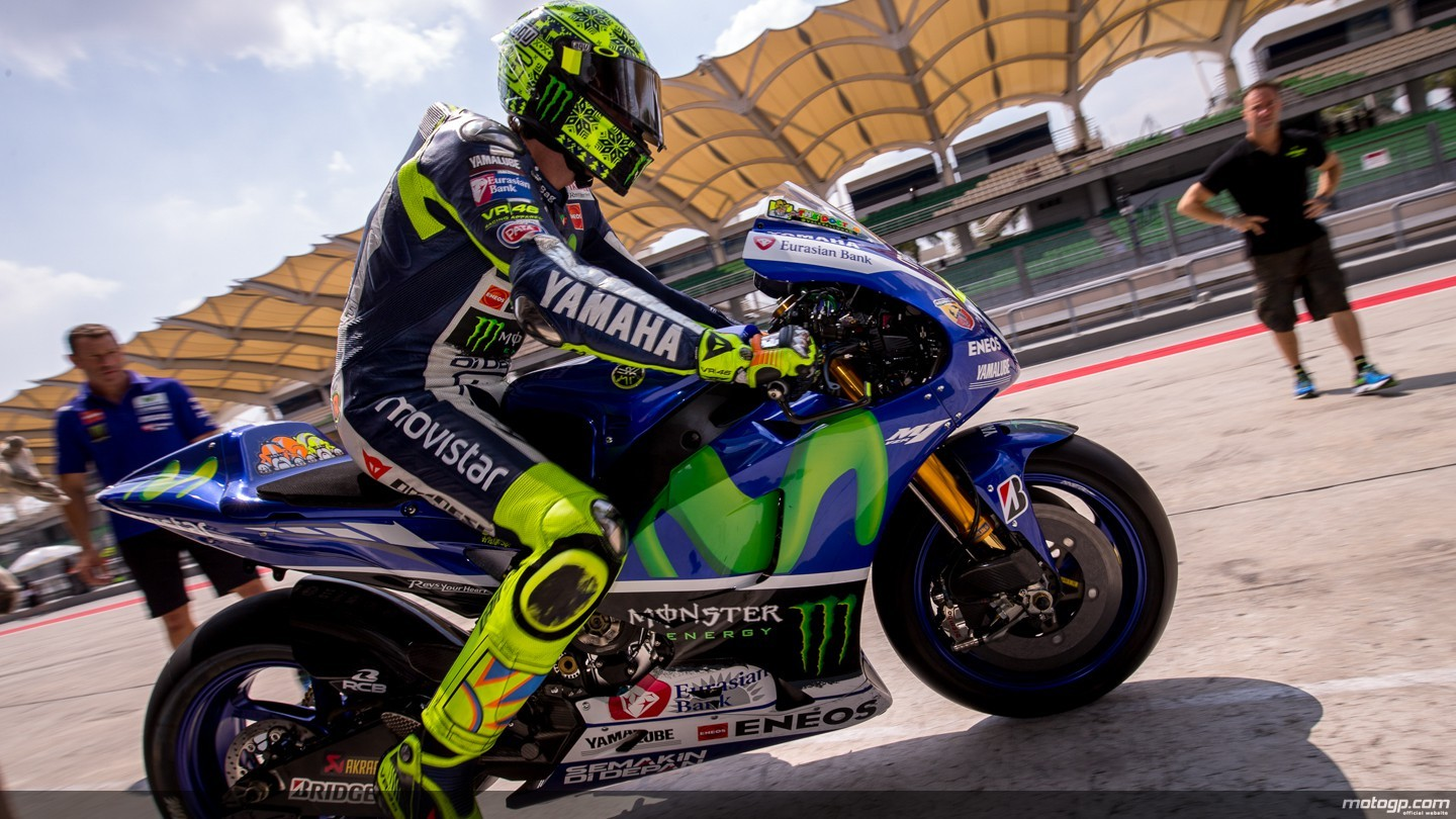 Fast Bike News Rossi Leads Day 1 At Sepang 2 Bayliss Can T