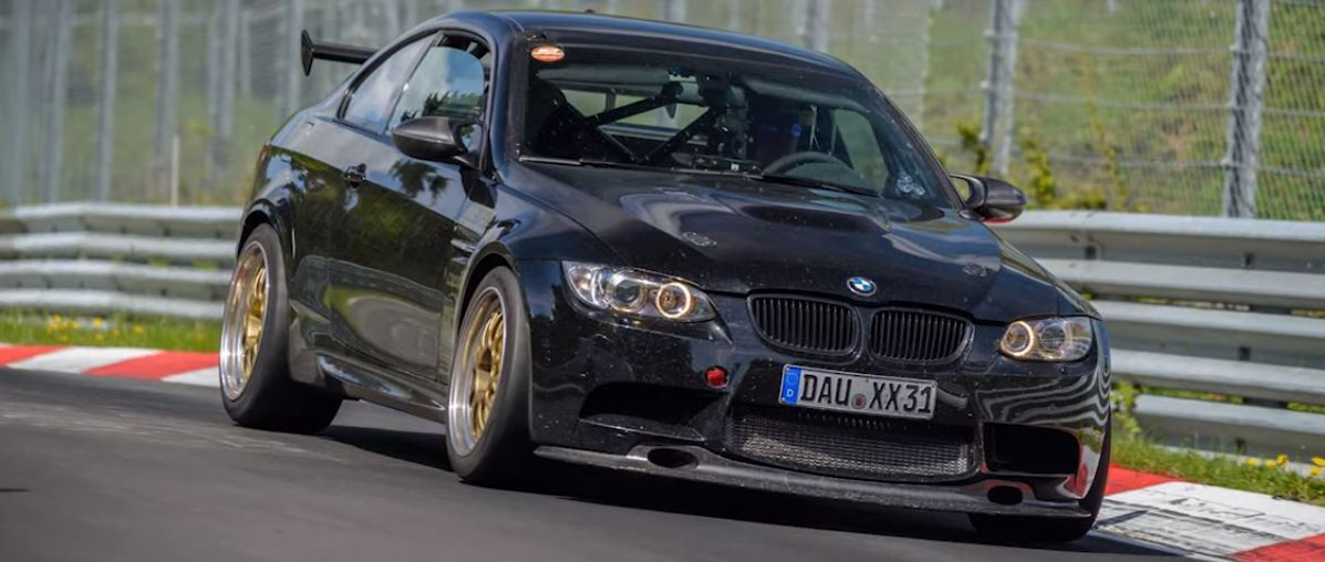 Fastest E92 Bmw M3 On Nurburgring Chases Porsche 911 Gt3