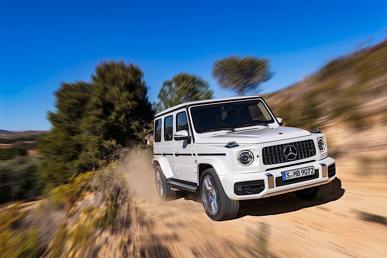 Fastest Ever Mercedes-AMG G 63 Breaks Cover