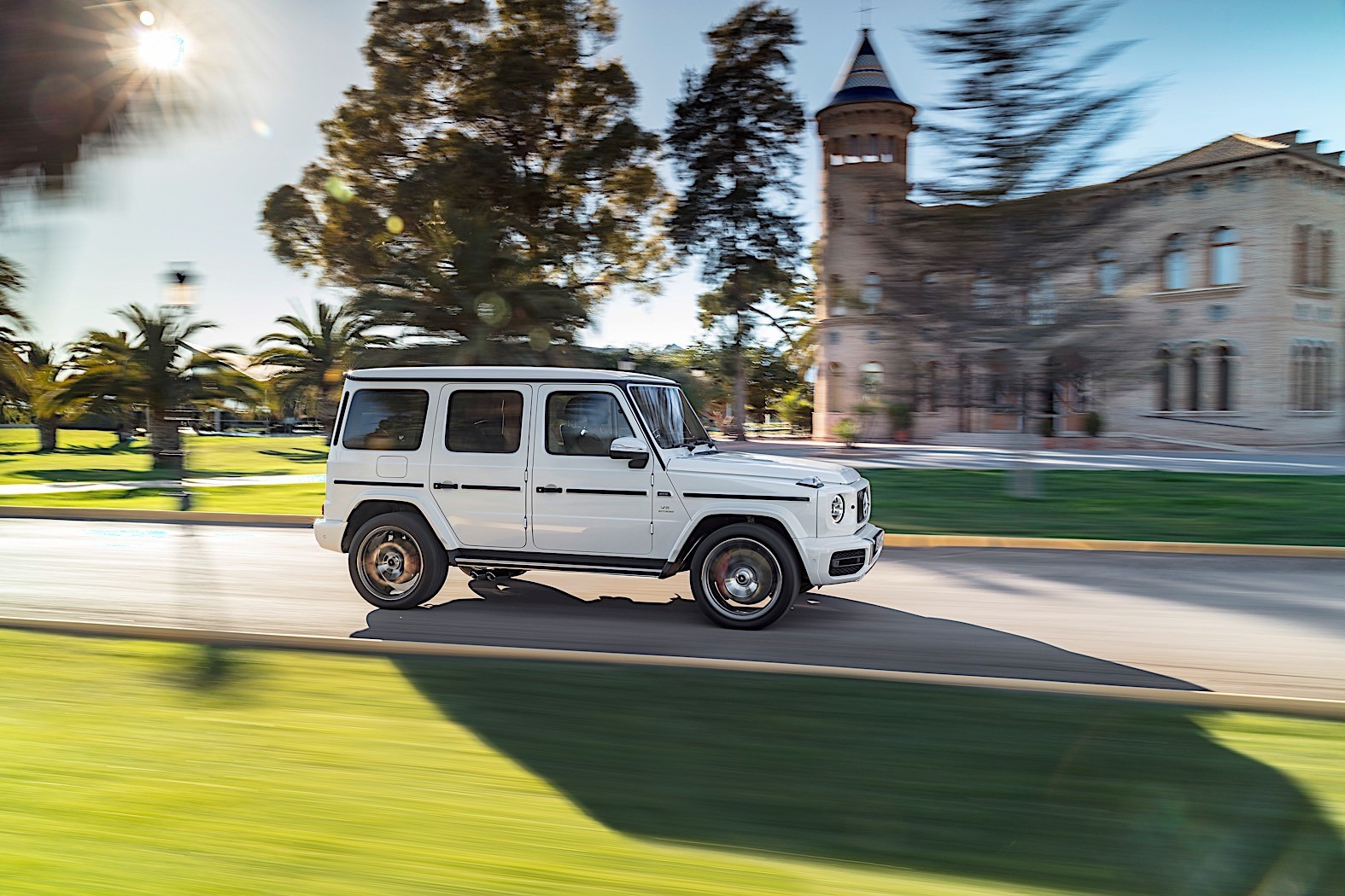 Fastest ever mercedes amg g 63 breaks cover autoevolution for Fastest mercedes benz amg