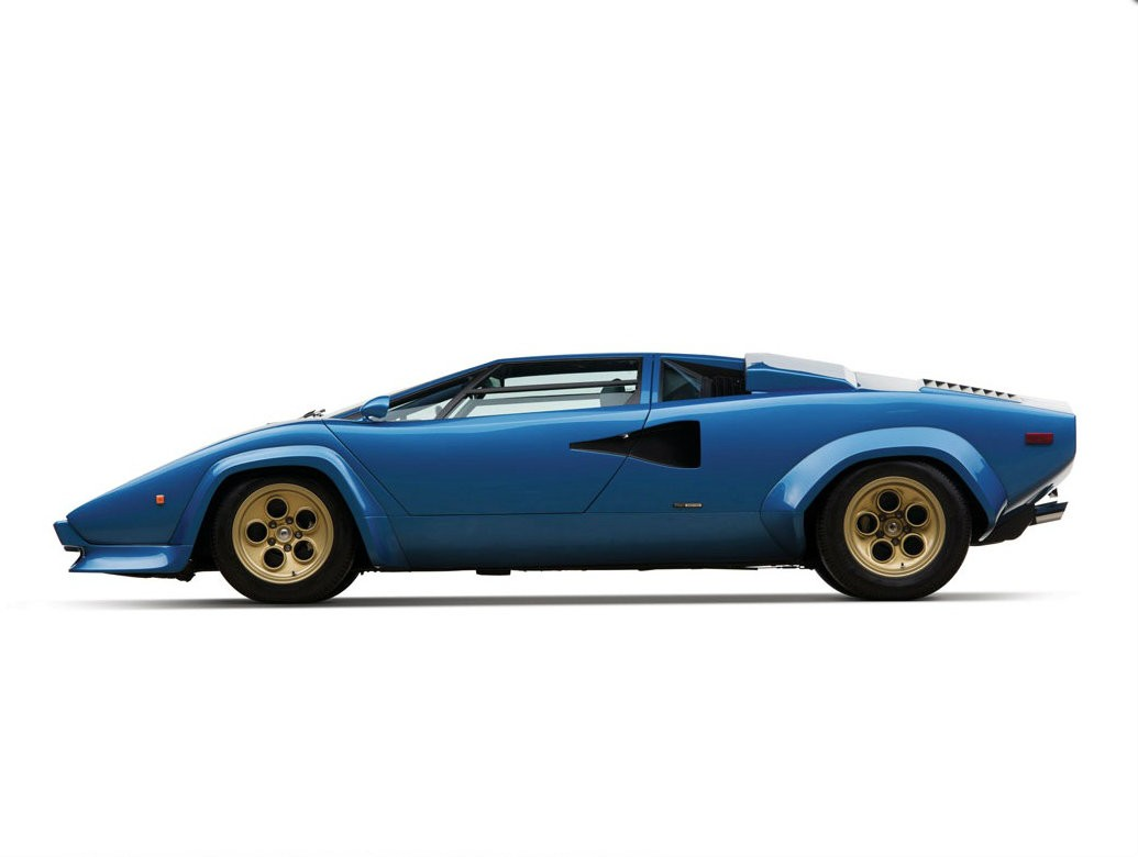 fat bottomed lamborghini countach with huracan taillights. Black Bedroom Furniture Sets. Home Design Ideas