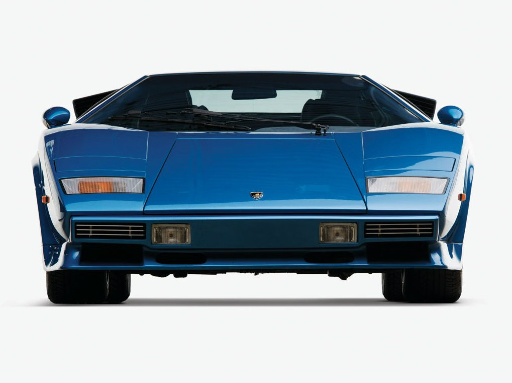 Fat Bottomed Lamborghini Countach With Huracan Taillights