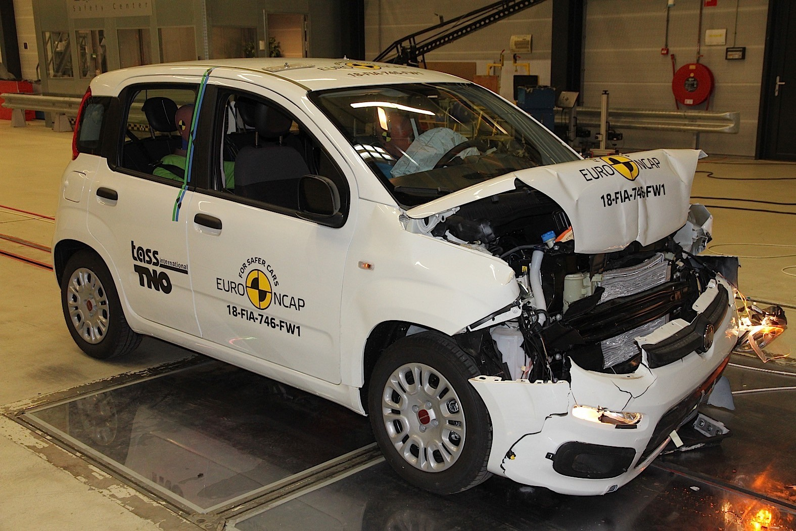 Five stars in the Euro NCAP crash test
