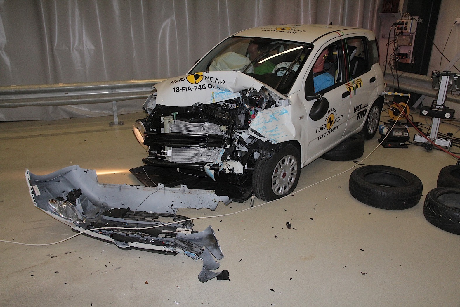 Fiat Panda, Jeep Wrangler off the pace in latest safety-crash ratings