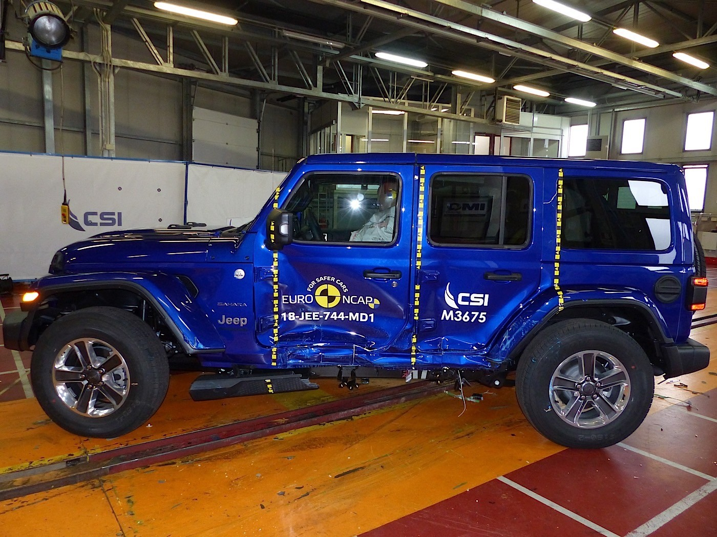 New Jeep Wrangler Disappoints With 1 Star In Europe NCAP Crash Tests