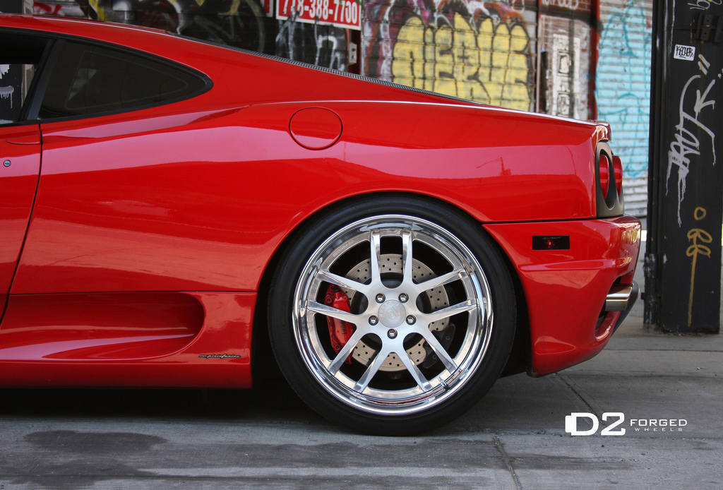 Ferrari 360 Modena On D2forged Wheels Autoevolution