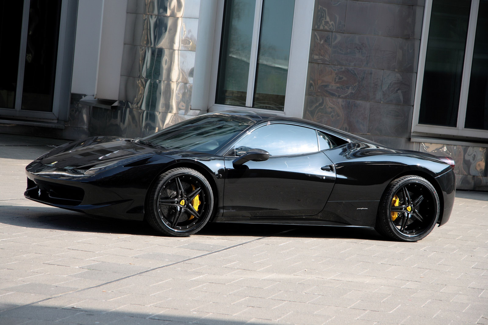 Ferrari 458 Black Carbon Edition Is Darth Vader S Supercar