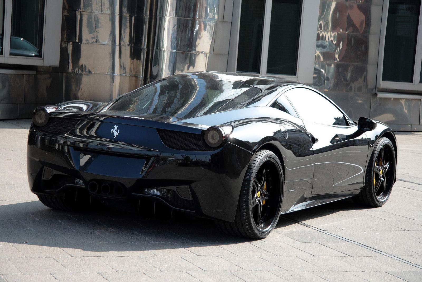 Ferrari 458 Black Carbon Edition Is Darth Vader's Supercar ...