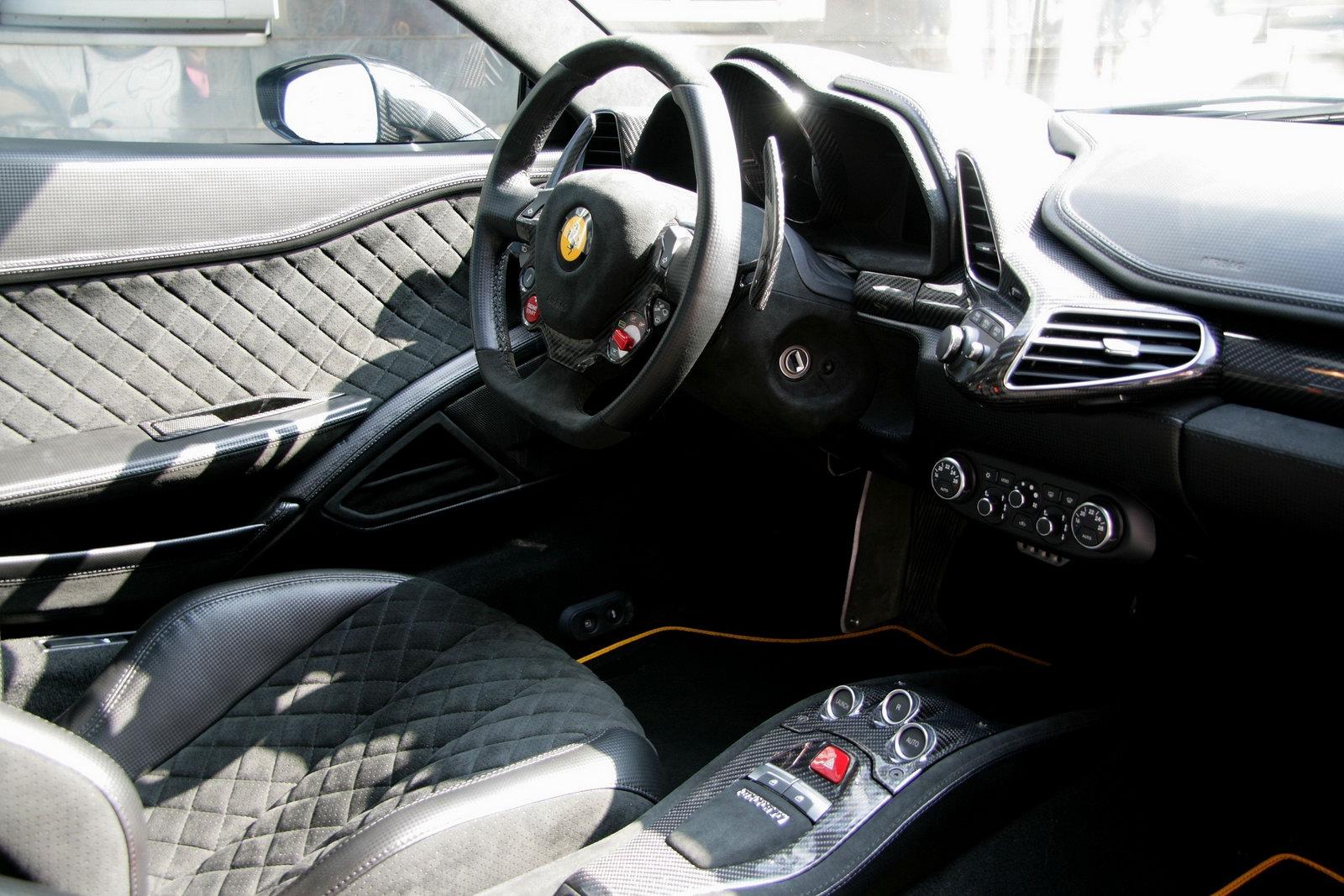 ... Ferrari 458 Black Carbon Edition ...