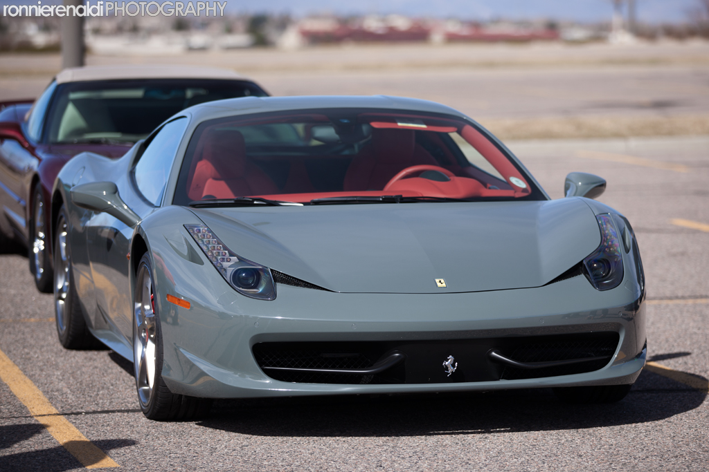 Ferrari 458 In Rare Color Grigio Medio Autoevolution
