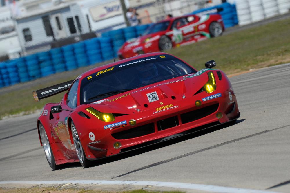 Ferrari 458 Italia GT2 Making Debut At Sebring This