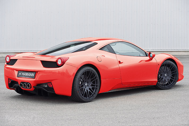 Ferrari 458 Italia Rides on Hamann Wheels - autoevolution
