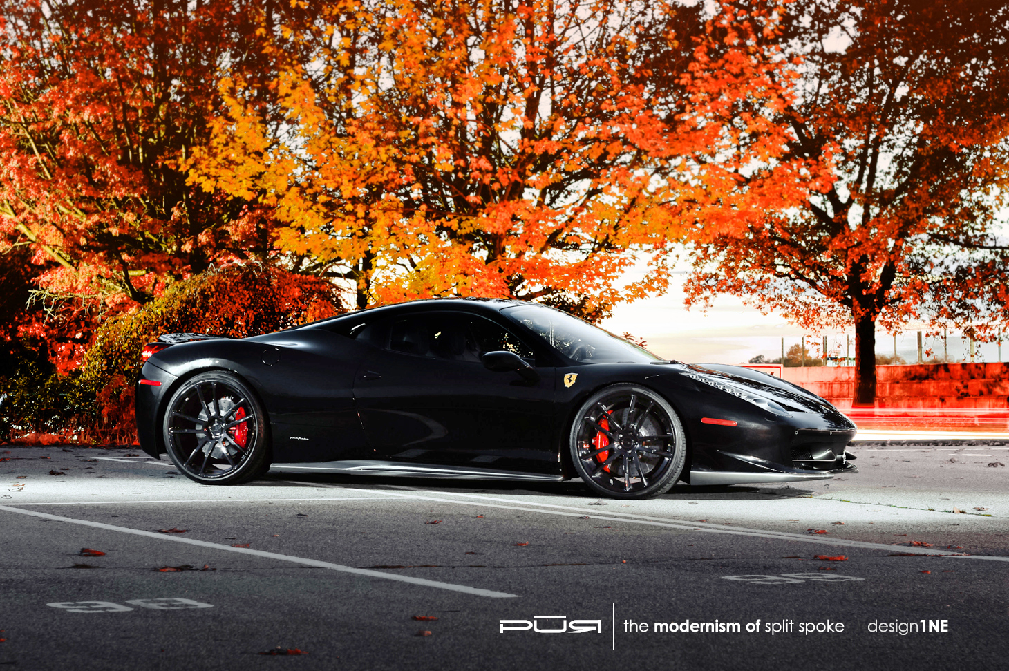 Ferrari 458 Italia Rides On Pur Wheels Autoevolution