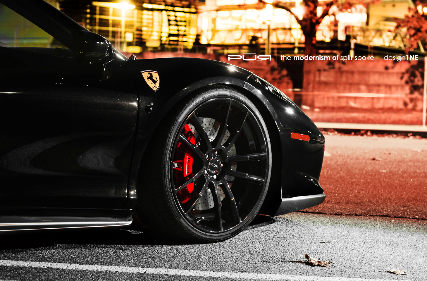 Ferrari 458 Italia Rides On Pur Wheels Autoevolution