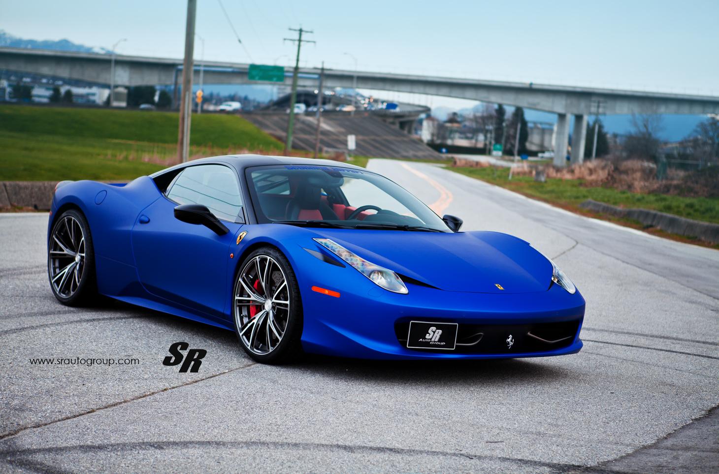 Ferrari 458 On Pur Wheels Autoevolution
