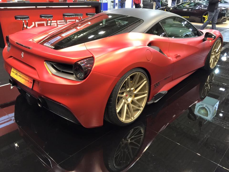 Ferrari 488 Gtb By Xxx Performance Packs Over 1 000 Hp
