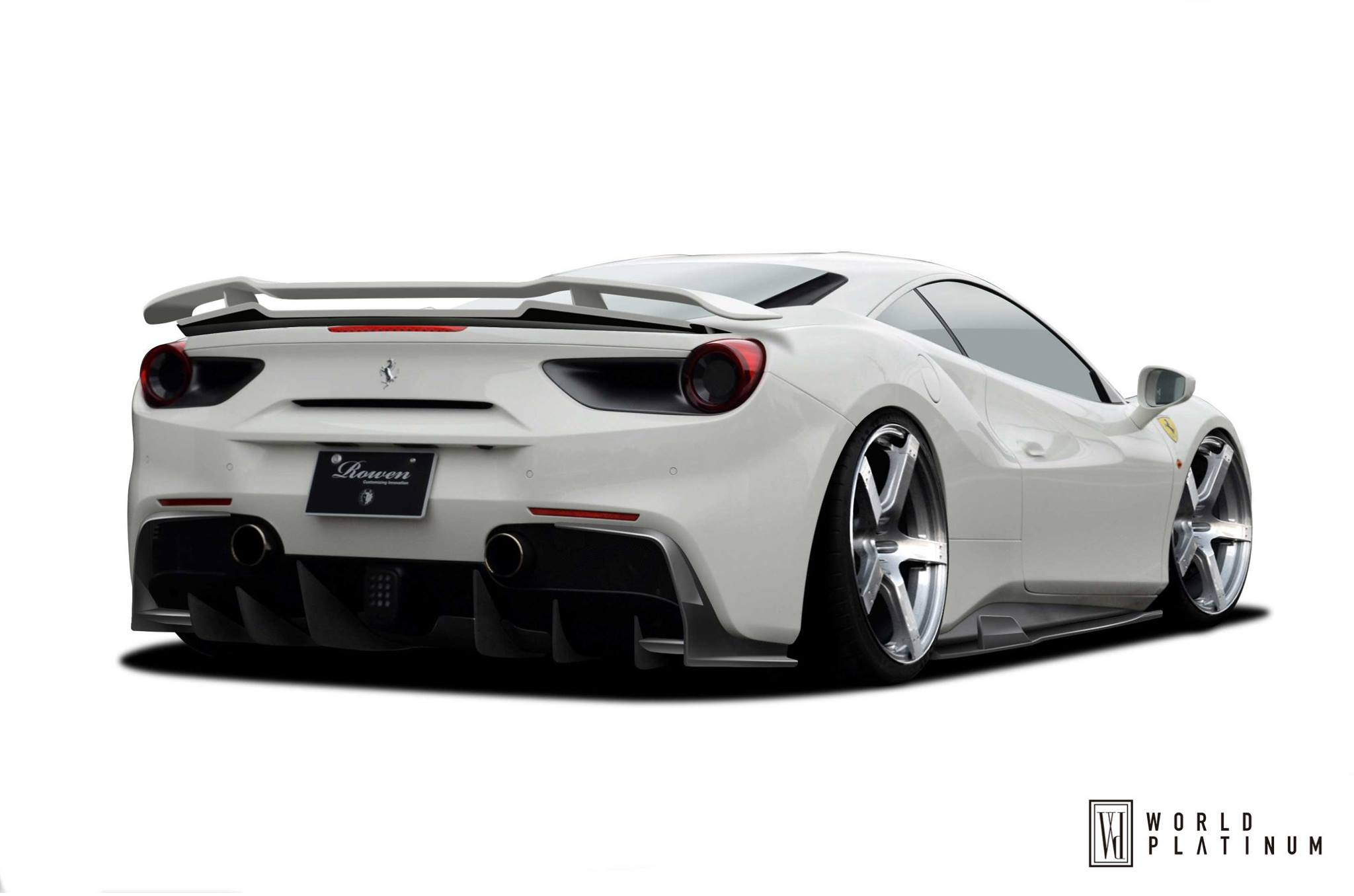 Ferrari F12 Goes Body Building Liberty Walk Kit Rendered