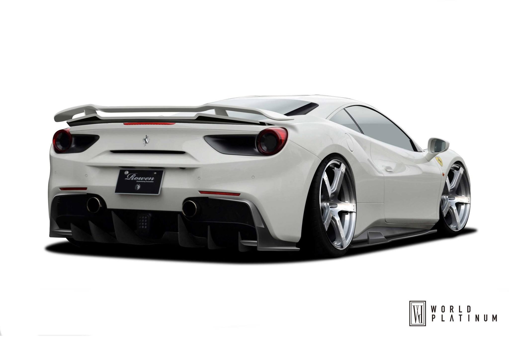 Wonderful ... Ferrari 488 GTB From Rowen Is 100% Japanese Tuning ...