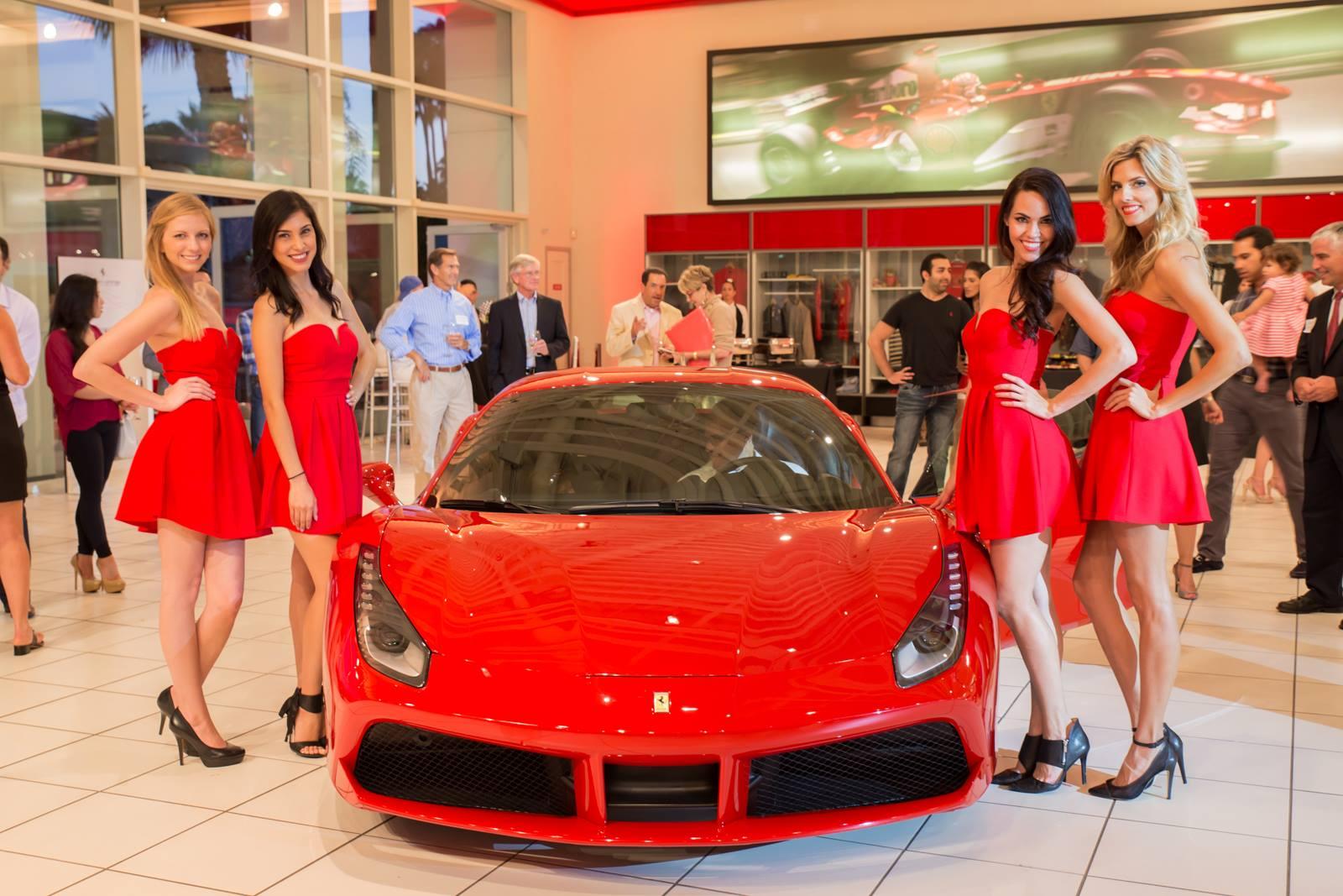 Ferrari 488 Gtb Launched With A Bang In Newport Beach Autoevolution