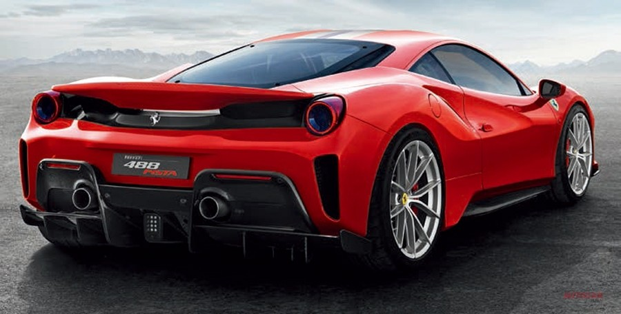 Ferrari's new 488 Pista is a road-going race vehicle