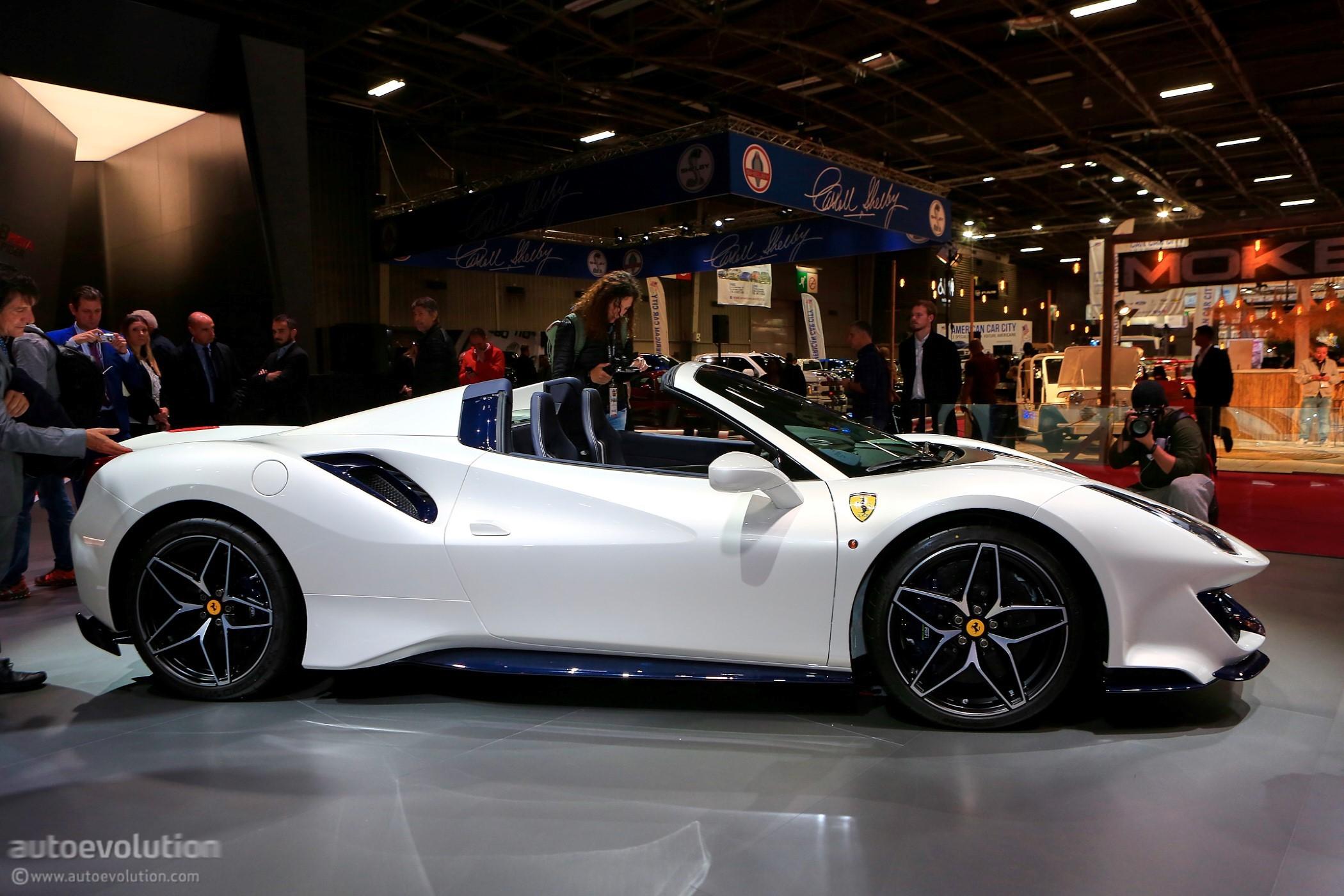 Concours D Elegance >> Ferrari 488 Pista Spider Makes European Debut in Paris - autoevolution